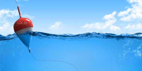 Pesca con galleggiante in mare – Azioni di pesca