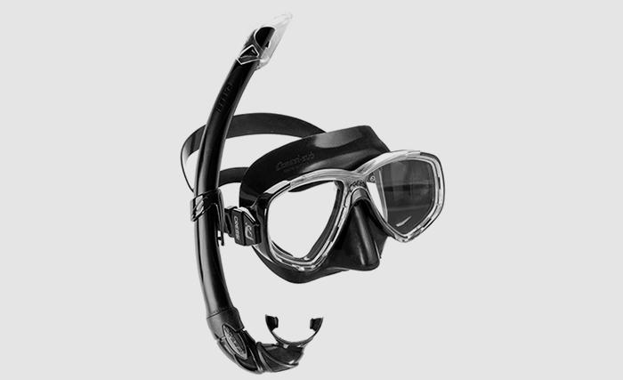 Maschera e tubo (snorkel)
